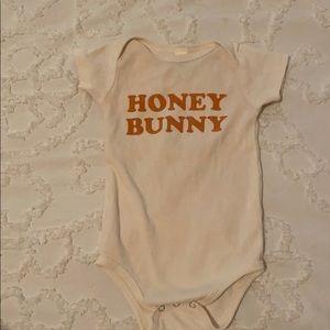 """Aspen and company """"Honey Bunny"""" onsie"""